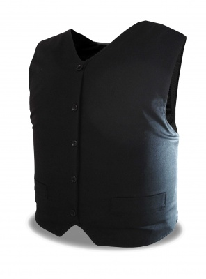 Executive VIP Waistcoat Body Armour Home Office KR1 Stab SP1 Needle Protection