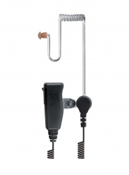 Acoustic Tube Radio Earpiece