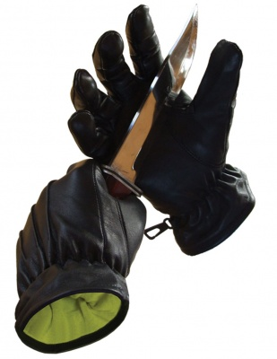 Leather Slash Defender Gloves