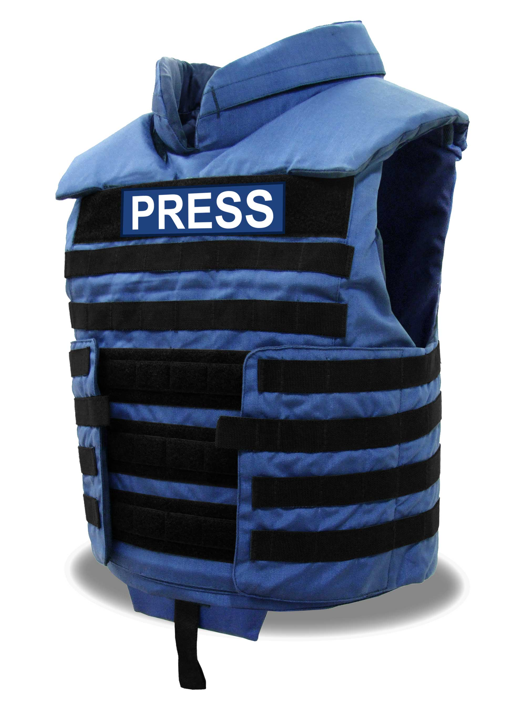 f967b382c0a VestGuard Overt Tactical Press Media Ballistic Bodyarmour Vest NIJ ...